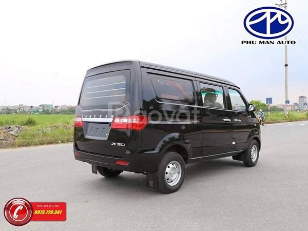 Xe bán tải Van Dongben 5 chỗ tự do vào thành phố.