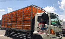 Xe Hino chở gia cầm 5 tấn inox304 252 lồng FC9JLTC