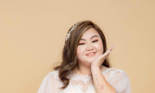 Áo cưới bigsize tròn xinh khuyến mãi