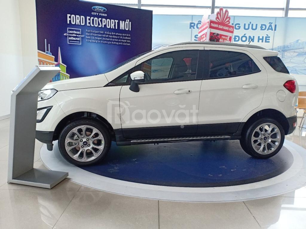 Ford Ecosport, tặng bảo hiểm, phụ kiện hoặc giảm tiền mặt