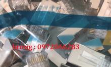 Hạt mạng sắt amp chống nhiễu shielded 8 position modular plug mã 5-569