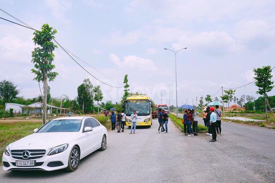 Đất nền sổ đỏ phường 5, TP Vĩnh Long