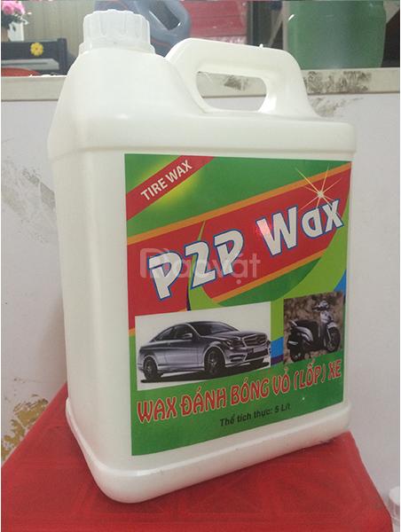 Dung dịch đánh bóng lốp xe P2P Wax-5L