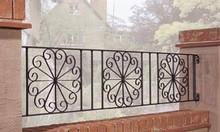 Hàng rào sắt uốn, sắt cắt CNC cao cấp, sang trọng cho nhà đẹp
