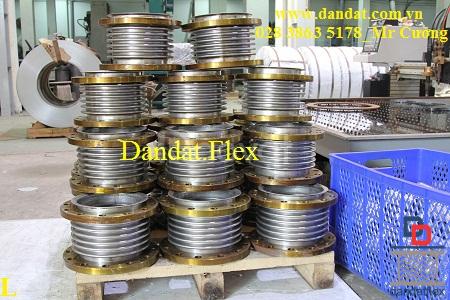DN80mm khớp nối giãn nở - khớp giãn nở inox - khớp co giãn inox