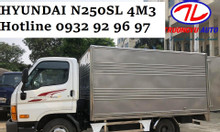 Hyundai N250SL thùng dài 4m3 Cần Thơ- Hyundai N250SL Cần Thơ