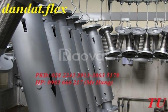 Tác dụng ống chống rung inox/khớp nối co giãn/dây dẫn nước mềm inox