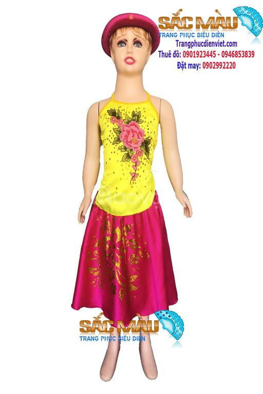 Cho thuê váy yếm múa trẻ em giá rẻ