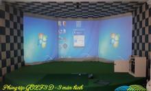 Chi phí thi công phòng tập Golf 3D tại miền Bắc