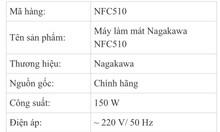 Thanh lý Quạt điều hòa Nagakawa mới 100%