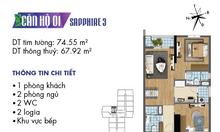 Goldmark City: Cập nhật quỹ căn 2 phòng ngủ và chính sách ưu đãi mới