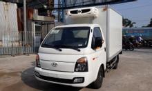 Xe tải Huyndai H150 đông lạnh. thùng nhà máy Huyndai thành công