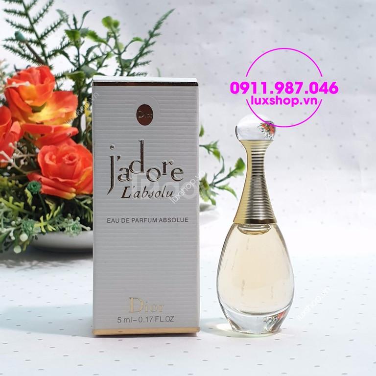 Nước hoa nữ Dior Jadore L'absolu edp 5ml chính hãng