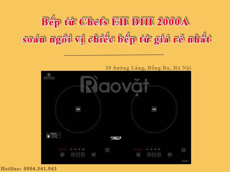 Bếp từ Chefs EH DIH 2000A