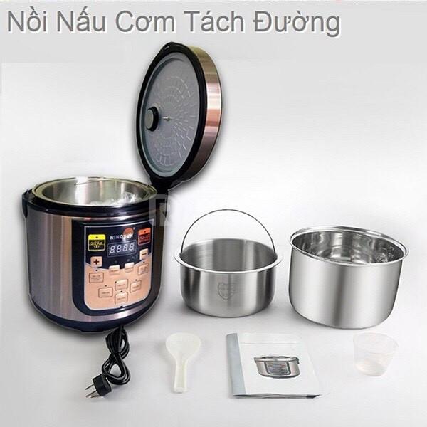 Nồi cơm chức năng Ninosun công nghệ nấu cơm tách đường