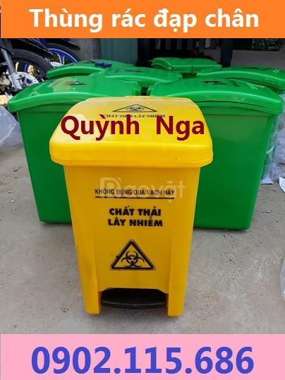 Thùng rác y tế đạp chân, thùng rác y tế 10L, 15L, 20L, 25L