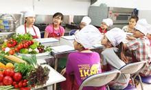 Lớp học nấu ăn nhí 6 - 15 tuổi