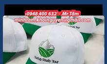 Nón du lịch - Nón tour du lịch - Nón teambuilding - Mũ du lich giá rẻ
