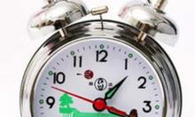 Đồng hồ con gà đồng hồ chạy dây cót, đồng hồ để bàn, đồng hồ cơ