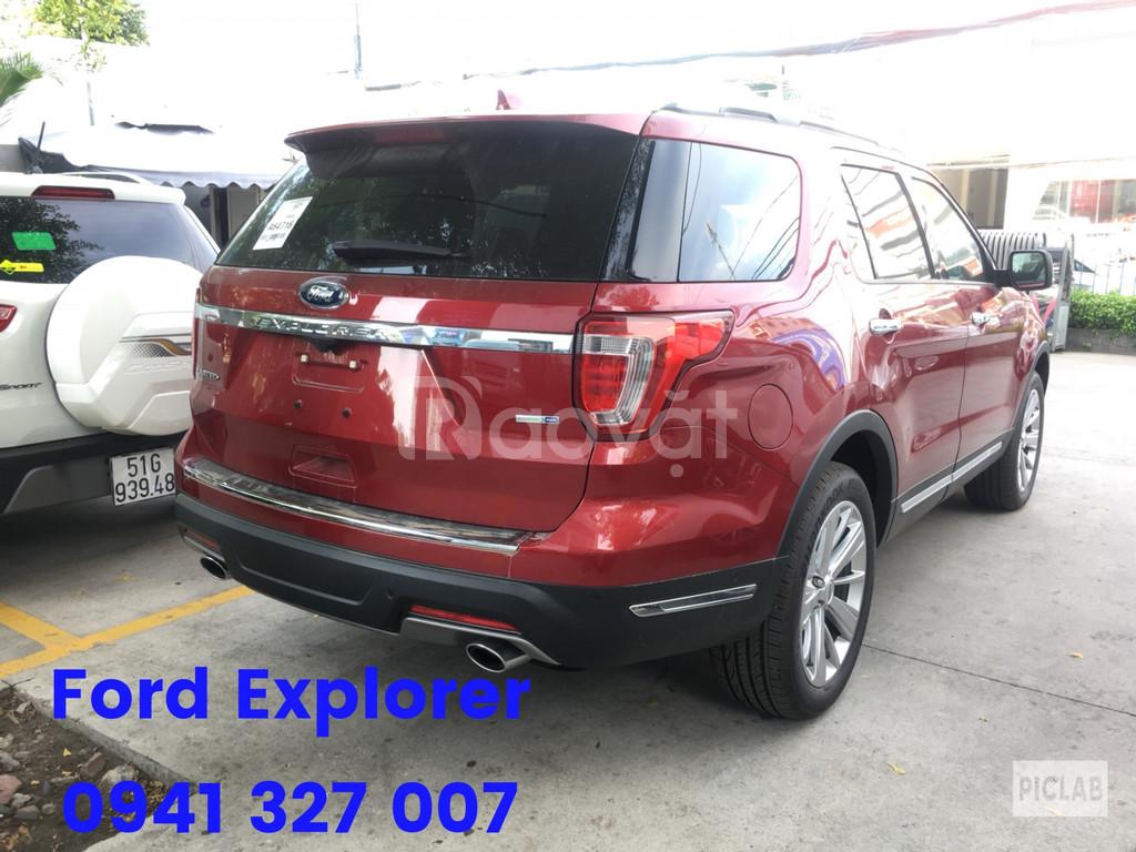 Ford Explorer nhập nguyên chiếc từ Mỹ