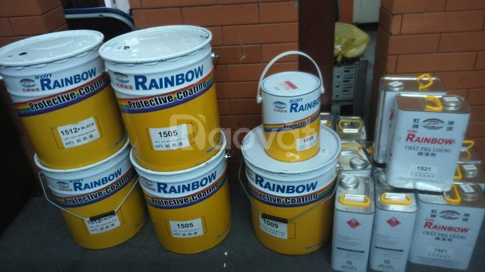 Danh mục các sản phẩm sơn chịu nhiệt Rainbow Đài Loan hiện nay