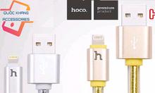 Cáp Iphone 1.2m chính hãng Hoco - có đèn báo sạc thông minh.