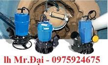 Bơm chìm nước thải Tsurumi 0.4kw, 0.75kw, 1.5kw, 2.2kw, 3.7kw