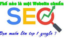 Website chuẩn seo giá rẻ