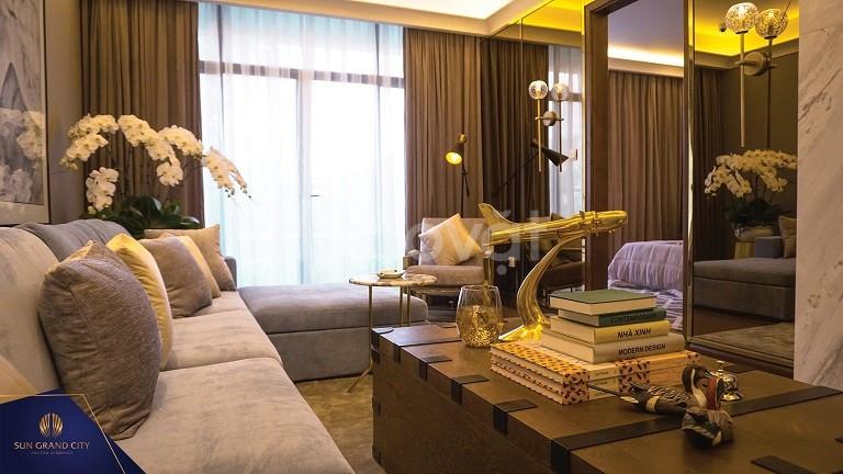 Chính chủ bán căn hộ 2 ngủ, 98m2 của Sun Group tại số 3 Lương Yên 5.7