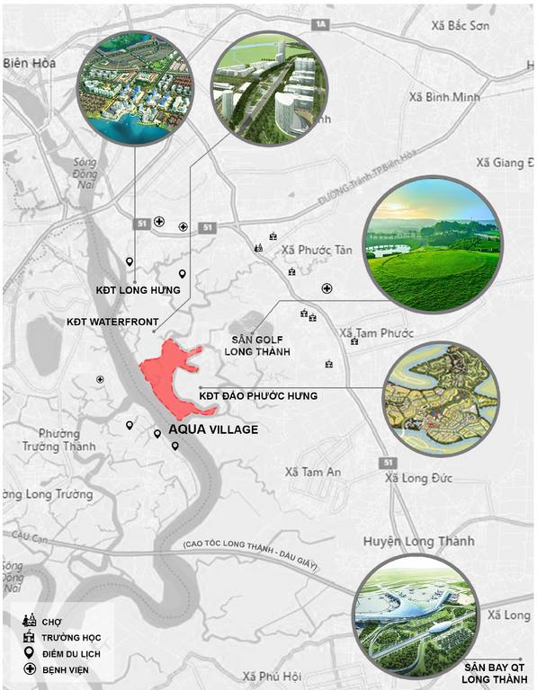 Aqua City nhà phố 5.8tỷ, biệt thự 6,8tỷ xứng tầm quốc tế Novaland