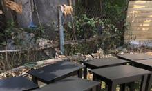 Thanh lý bàn ghế cafe sân vườn giá cực rẻ.