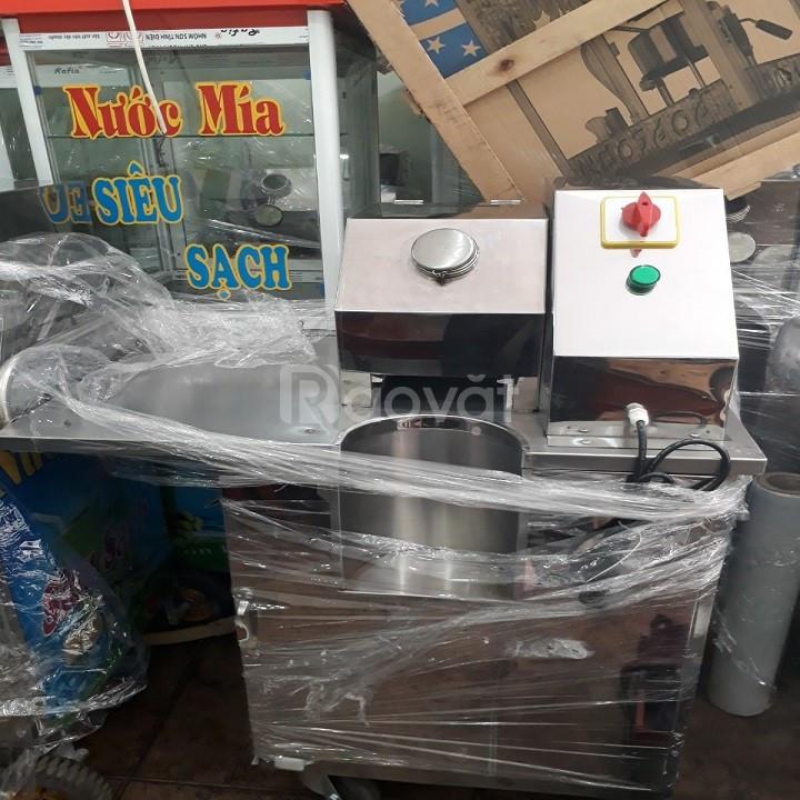 Máy ép nước mía bàn cộc tủ kính