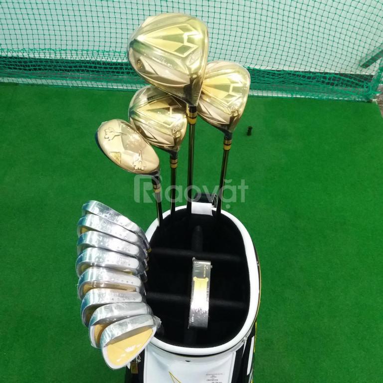 Bộ Gậy Golf Grand Prix One Minute G57 Gold FUJI