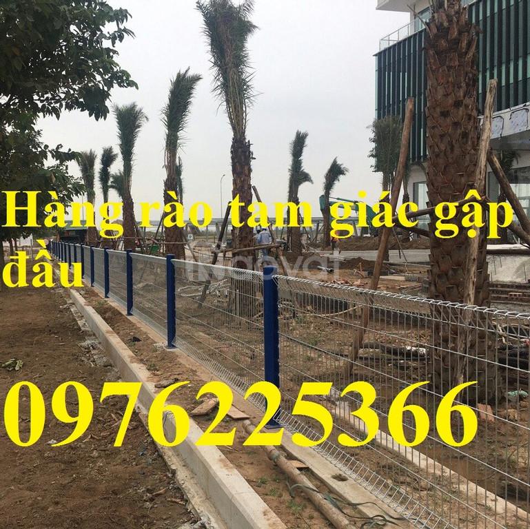 Hàng rào lưới thép gập đầu D4, D5, D6