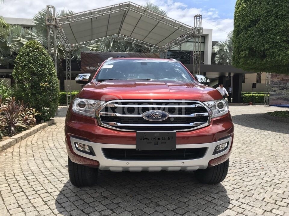 Ford Everest 2019 mới giao ngay