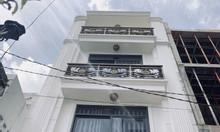 Nhà Lê Quang Định, Bình Thạnh ngay chợ Bà Chiểu. hẻm 4m. 55m2. 3 lầu