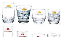 In logo lên ly thủy tinh giá rẻ tại Huế