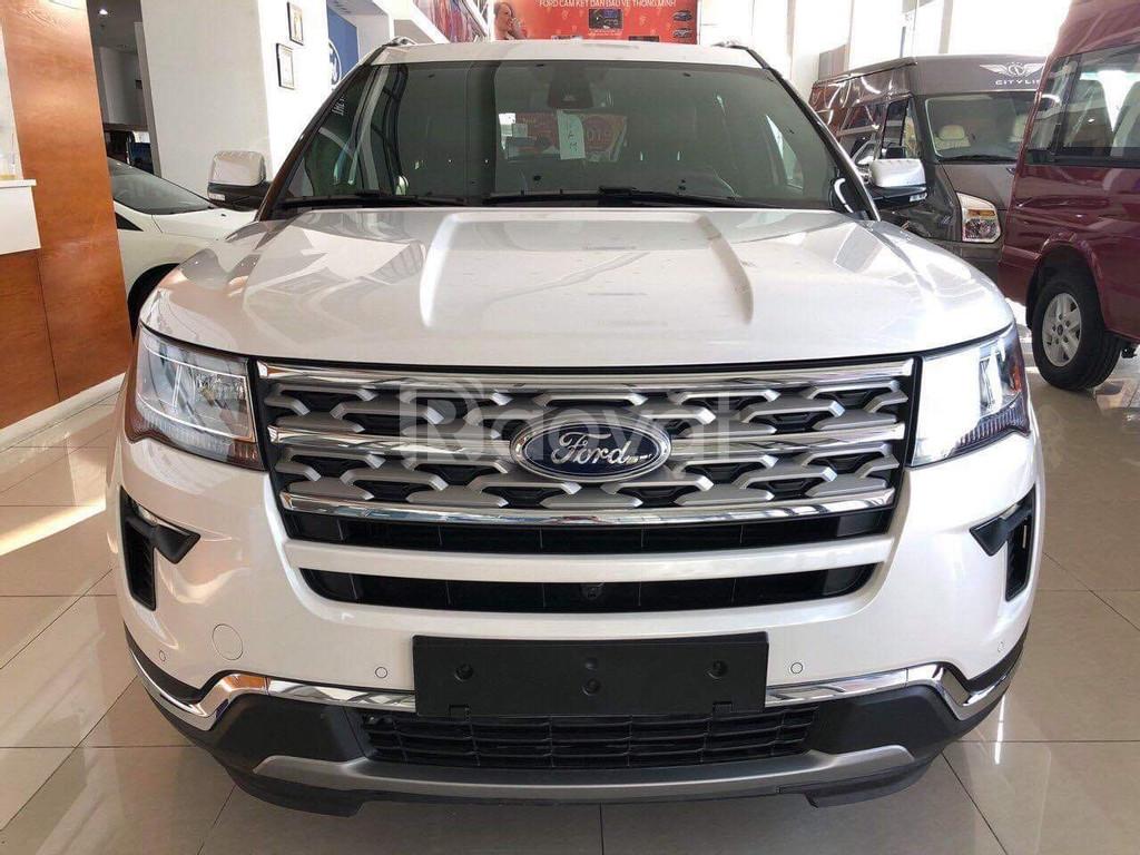 Ford Explorer, dòng 7 chỗ bán chạy tại Mỹ của Ford, giá tốt