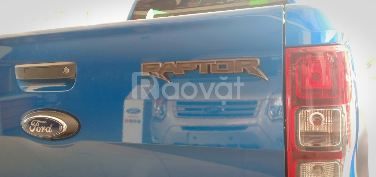Ranger Raptor, bán tải chinh phục mọi con đường