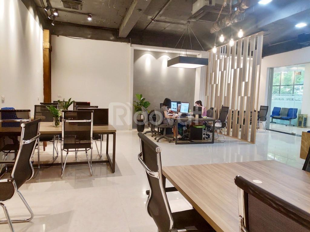 Văn phòng giá rẻ hợp đồng trọn gói diện tích 35-70m2 tại Q. Cầu Giấy