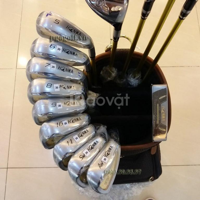 Bộ gậy golf 3 sao Honma Beres S06 giảm giá khủng