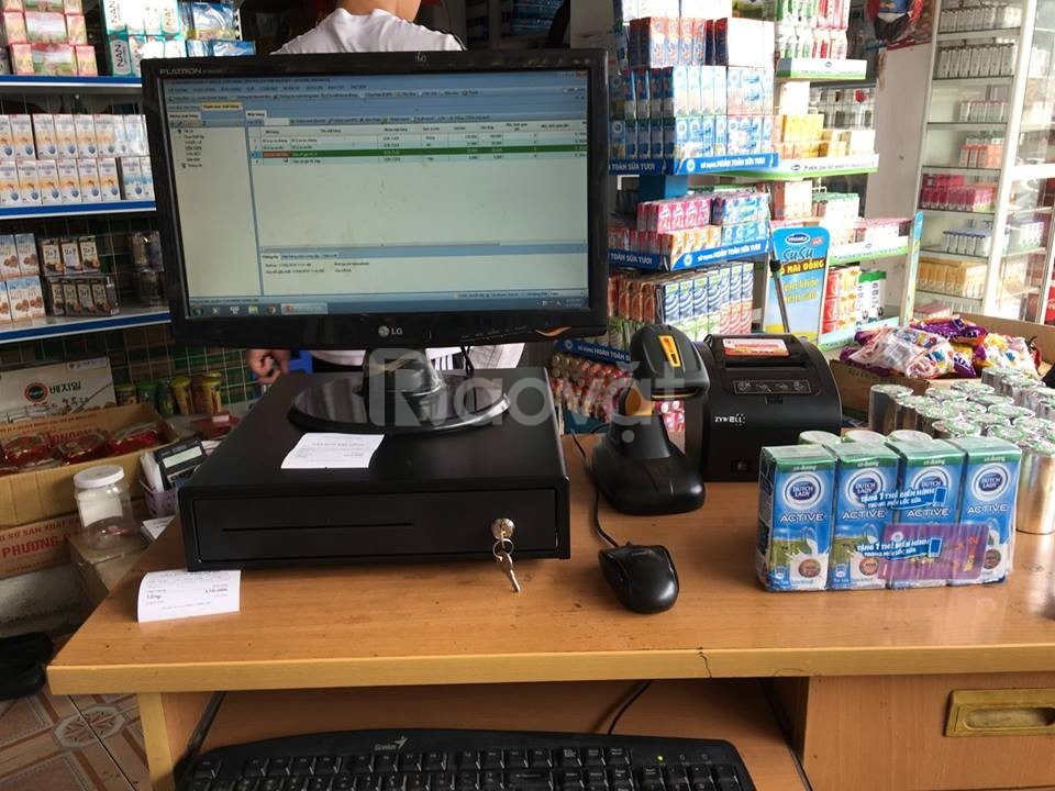 Cung cấp máy tính tiền tại Hà Tĩnh cho shop, tạp hóa giá rẻ