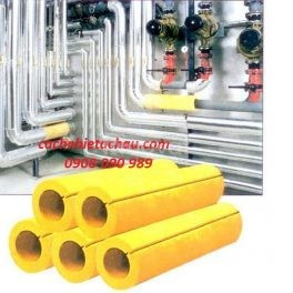 Rockwool dạng ống cách nhiệt đường ống nóng, lạnh