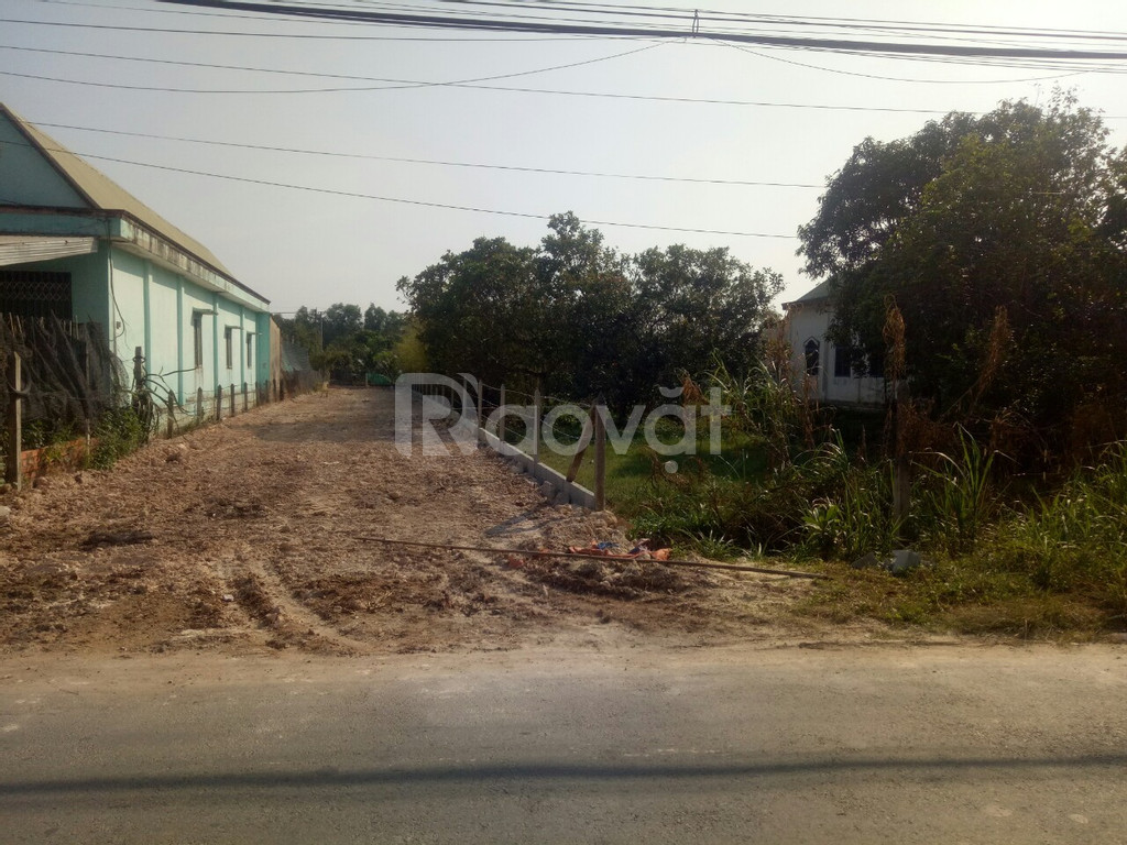 Chính chủ cấn bán gấp lô đất thổ cư mt đường cây bài huyện Củ Chi.