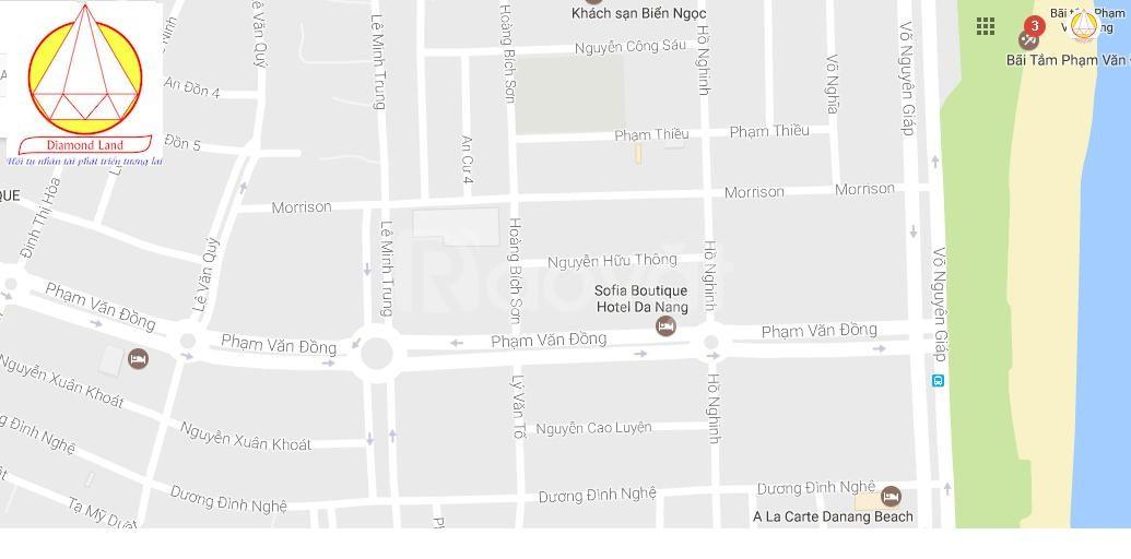 Cho thuê lô đất 970 m2 MT đường Phạm Văn Đồng, Đà Nẵng HĐ 5 năm/lần (ảnh 3)