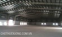 Cho thuê kho xưởng Phú Diễn Từ Liêm Hà Nội nhiều DT từ 600m2 đến 1800m