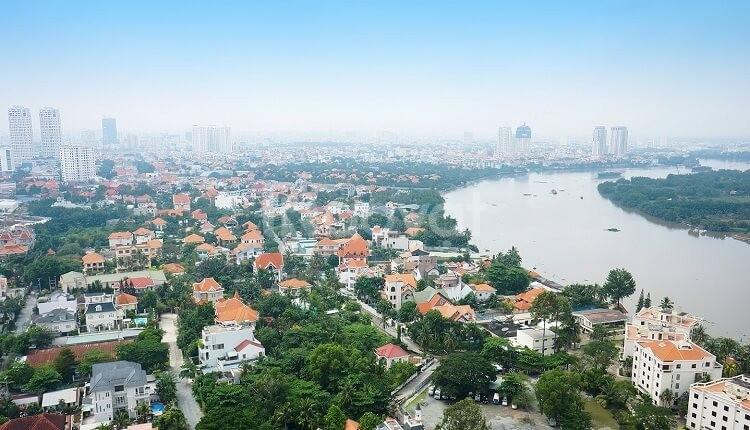 Bán biệt thự bờ sông Thảo Điền, view trực diện sông, diện tích 560m2