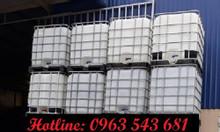 Bồn, thùng nhựa nuôi cá 1000 lít, tank nhựa cũ 1000