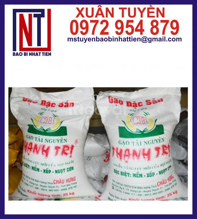 Bao bì đựng gạo, giá bao bì đựng gạo
