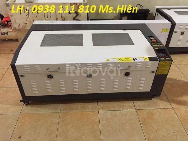Máy laser cắt khắc gỗ , máy khắc laser 6040